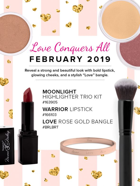 Mineral Makeup of the Month Club - February 2019