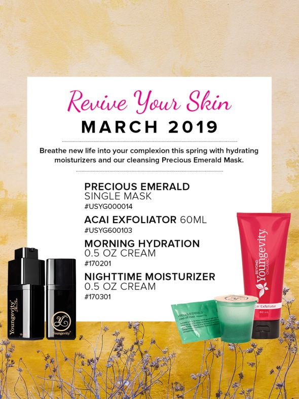 Mineral Makeup of the Month Club - March 2019